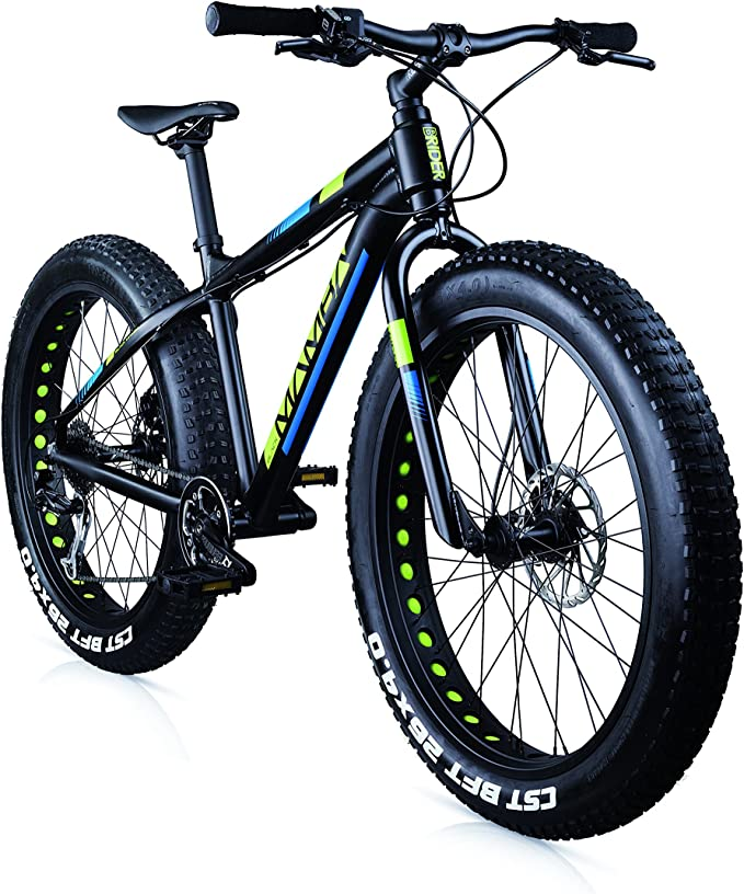 MBM BLACKMAMBA RH - Bicicleta fatbike (26