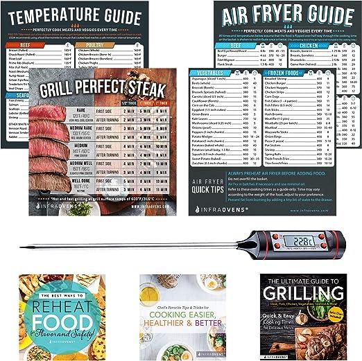 Amazon Com Air Fryer Cook Times Cheat Sheet Magnet Accessories