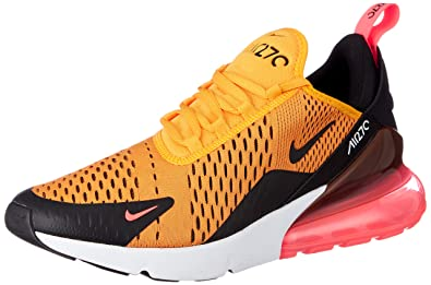 Nike Men s Air Max 270 Black Gold AH8050-004 (Size  ... c58d04250