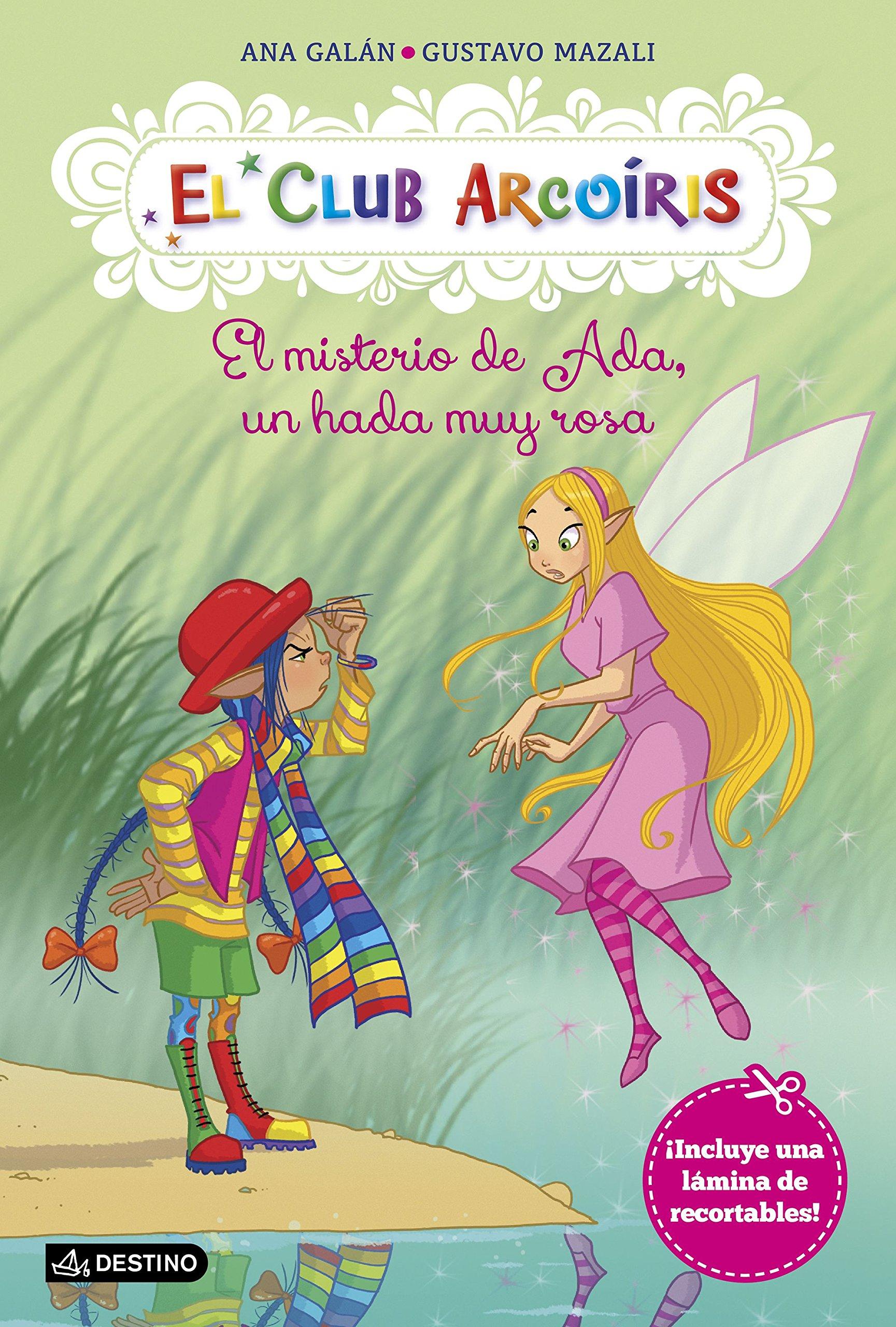 El misterio de Ada, un hada muy rosa: El Club Arcoíris 7: Amazon ...