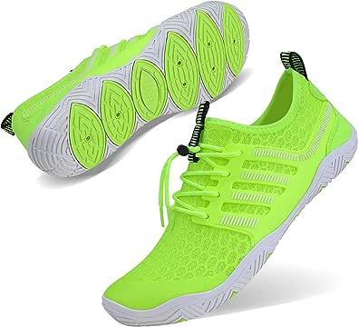 Wonesion Mens Womens Water Sport Shoes Quick Dry Aqua Socks Barefoot Outdoor Beach Swim Surf Pool Yoga Shoes