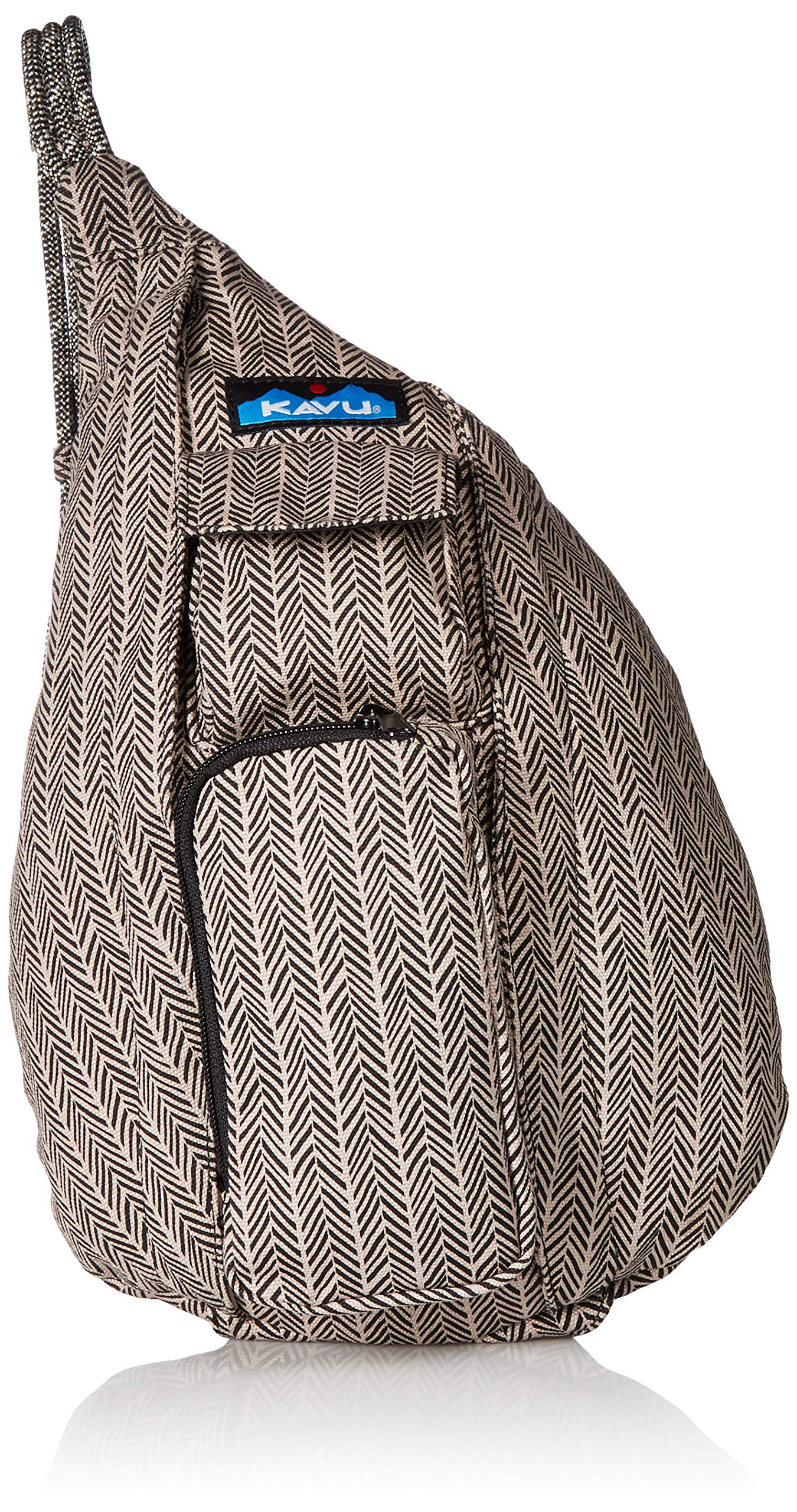 KAVU Mini Rope Bag – Chevron Shower