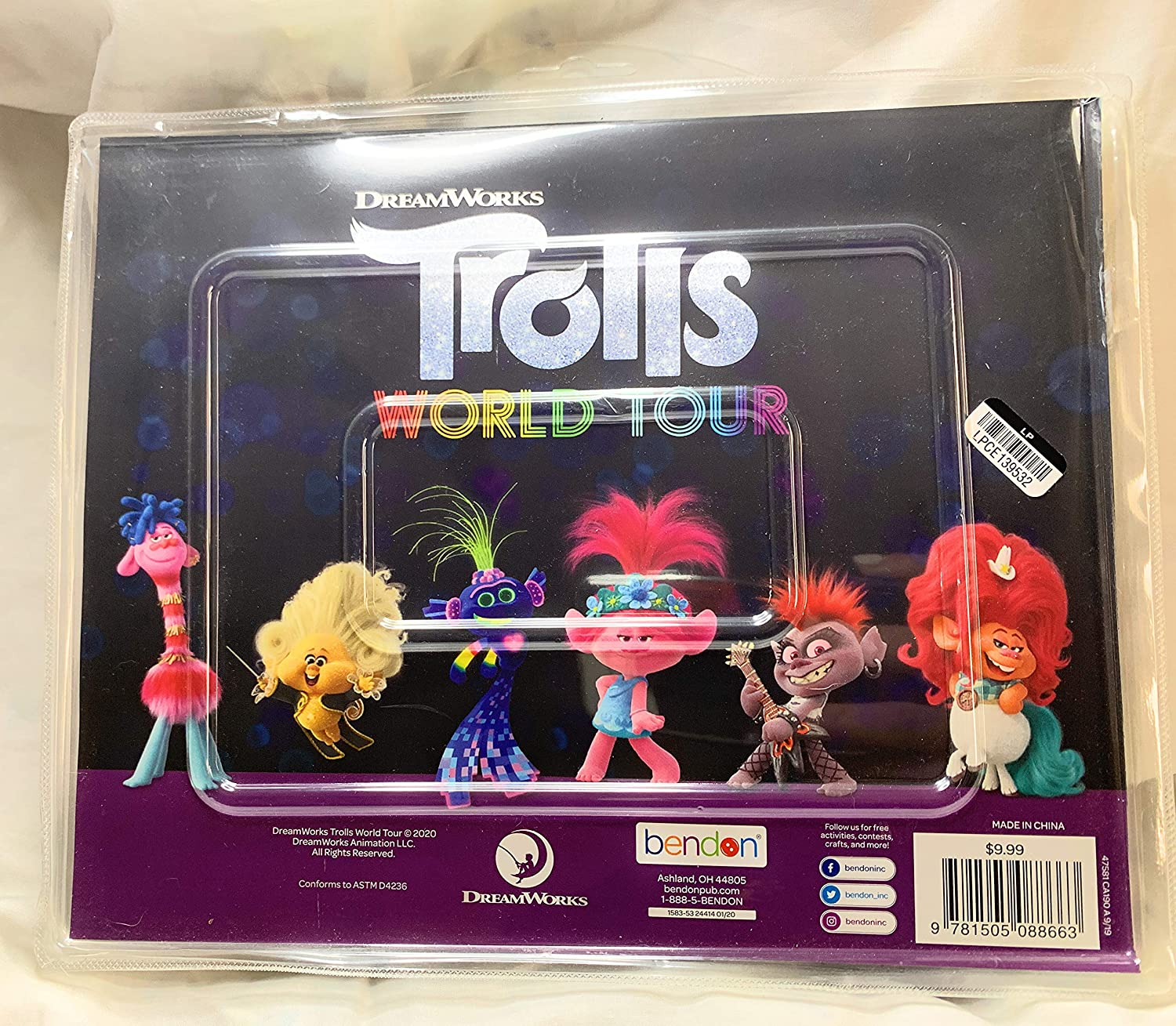 Trolls World Tour Coloring and Activity Playset