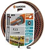 Gardena 18030-20 Comfort Flex Tuyau Gris/Orange Plastique 30 x 30 x 30 cm