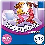 Dodot Happyjama - Pañales para niñas de 8-12 años, tipo ropa interior absorbente