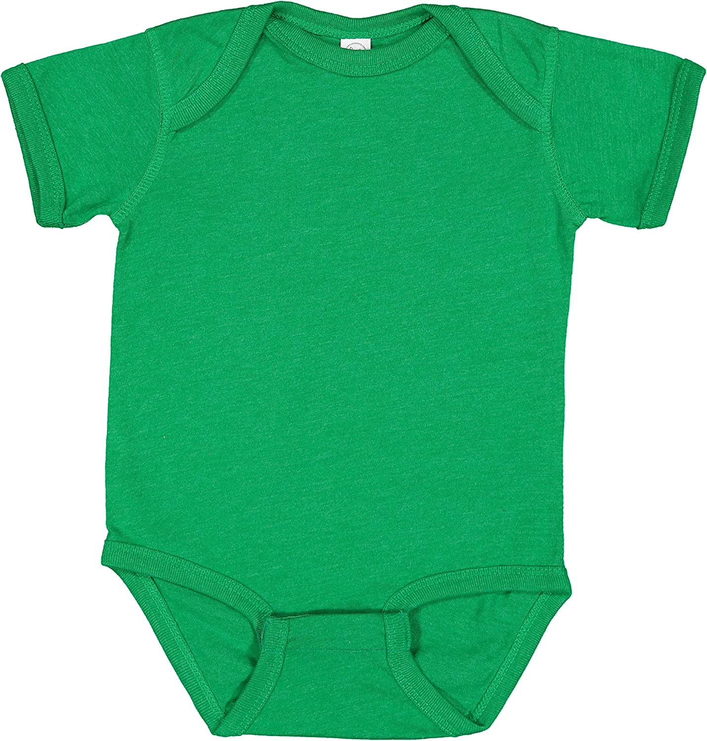 RABBIT SKINS Baby Soft Fine Jersey Short Sleeve Bodysuit