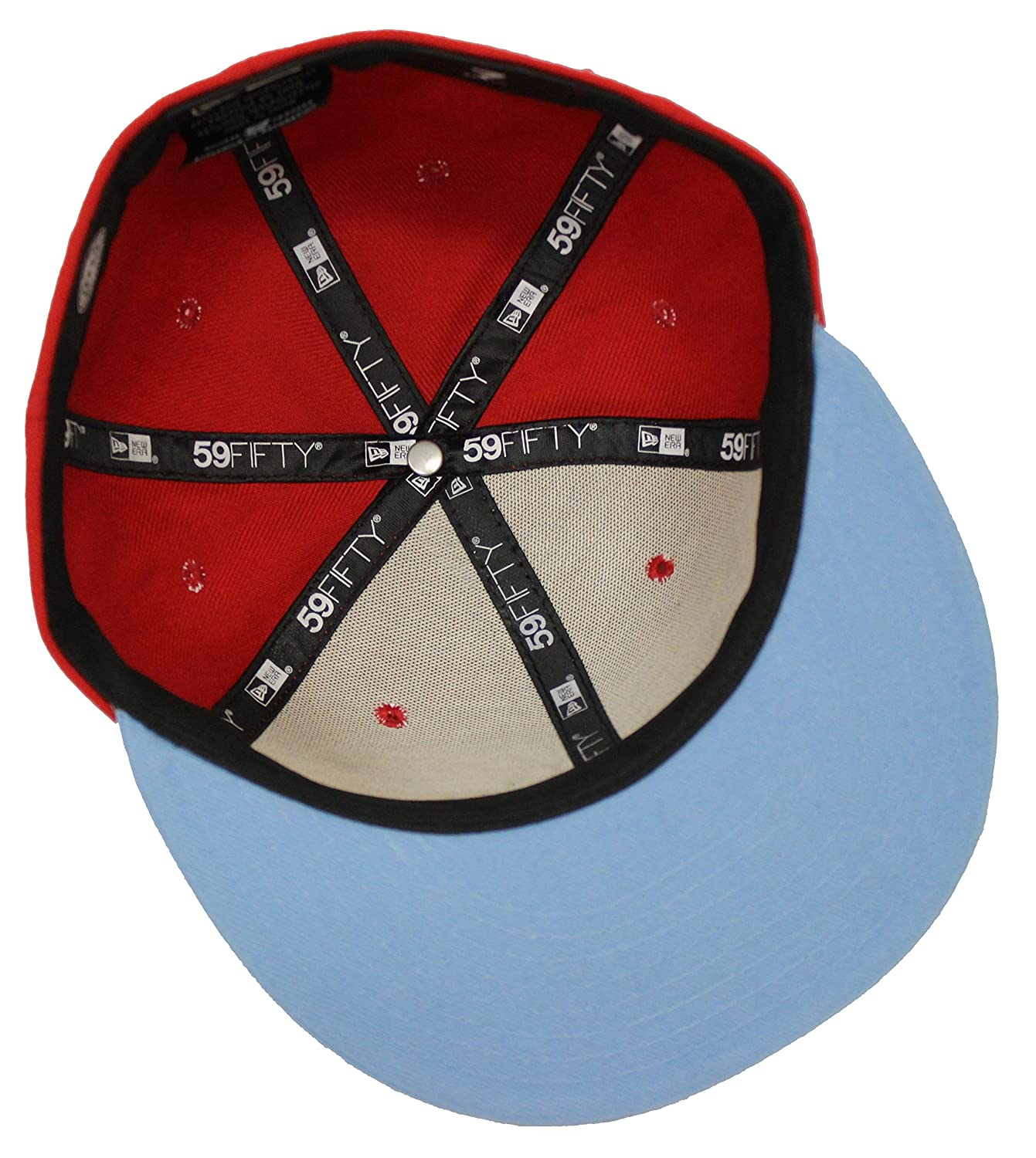 ... low cost new era 59fifty wonder woman red blue fitted cap at amazon  mens clothing store 5de8f0200f7d
