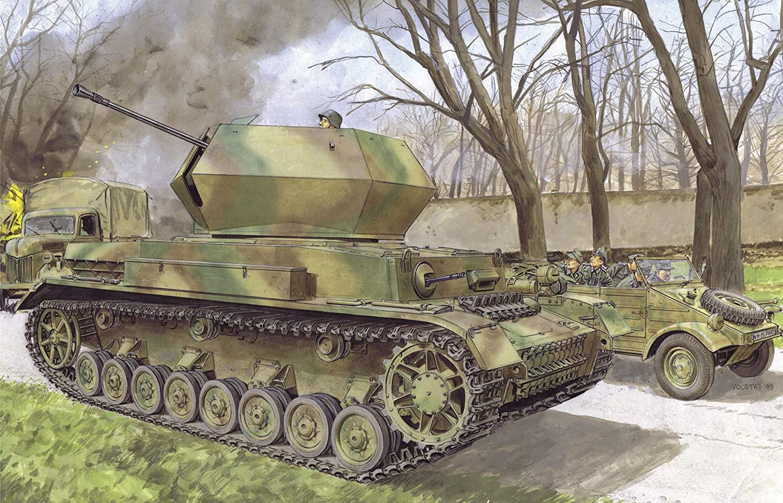 Dragon 500776550 - 1:35 Flakpanzer IV, Ostwind
