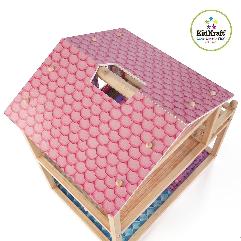 Kidkraft Petal Pink Kitchen Amazoncom Kidkraft My Pretty Petal Dollhouse Toys Games
