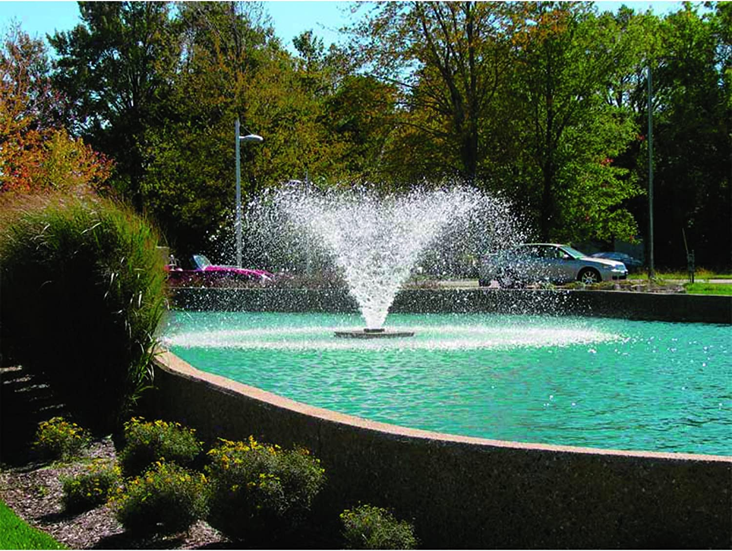 Scott Display Pond Aerator Fountain, 1/2 HP