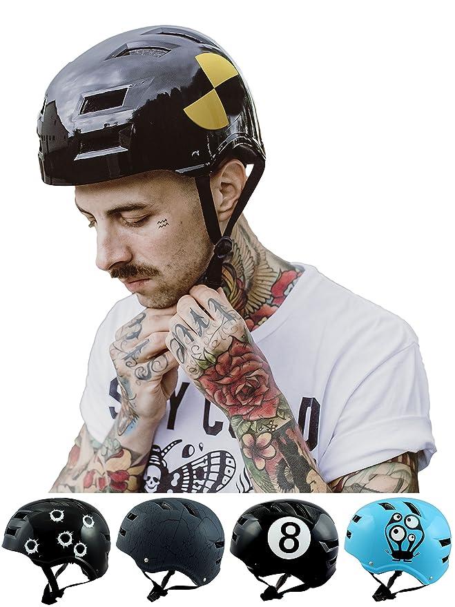 13 opinioni per Skullcap® Casco BMX- Casco Skate- Casco Bici ?