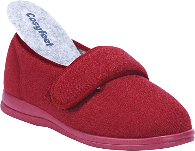 Cosyfeet Holly Slippers - Extra Roomy (6E Width Fitting)  Amazon.co.uk   Shoes   Bags 0d7072054d87