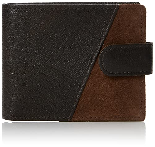 New Look - Levi, Carteras Hombre, Marrón (Dark Brown), 2x9x11 cm