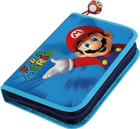 SUPER MARIO - Estuche Escolar Mario Bros (03012440): Amazon.es: Juguetes y juegos