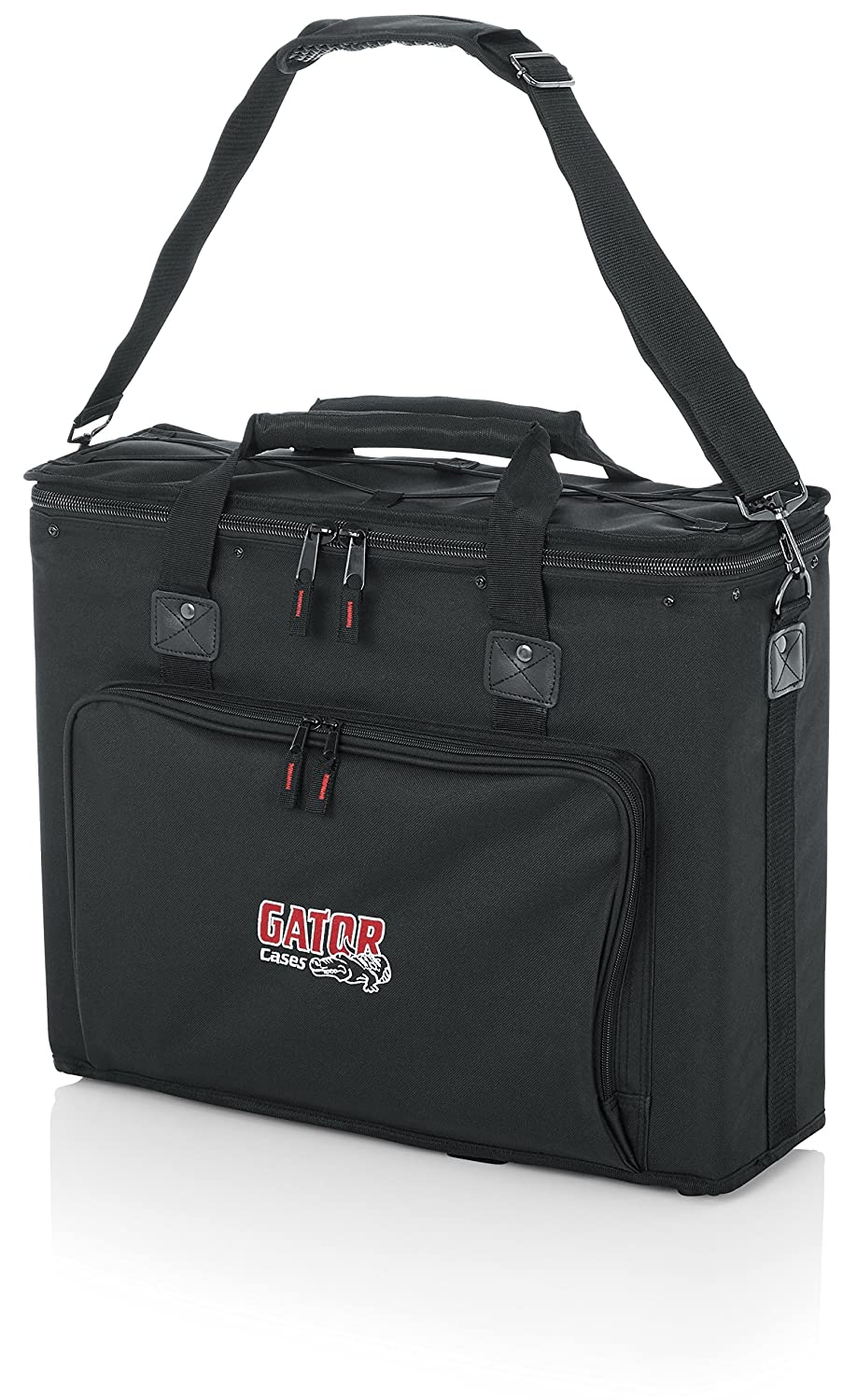 "B0002D020S Gator Cases Portable 3U Rack Bag with 14"" Rackable Depth; (GRB-3U) 9186s2nYKfL"