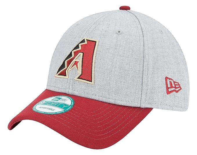 lowest price eab57 3373c Amazon.com   New Era MLB Arizona Diamondbacks The League Heather 9FORTY  Adjustable Cap, One Size, Gray   Clothing