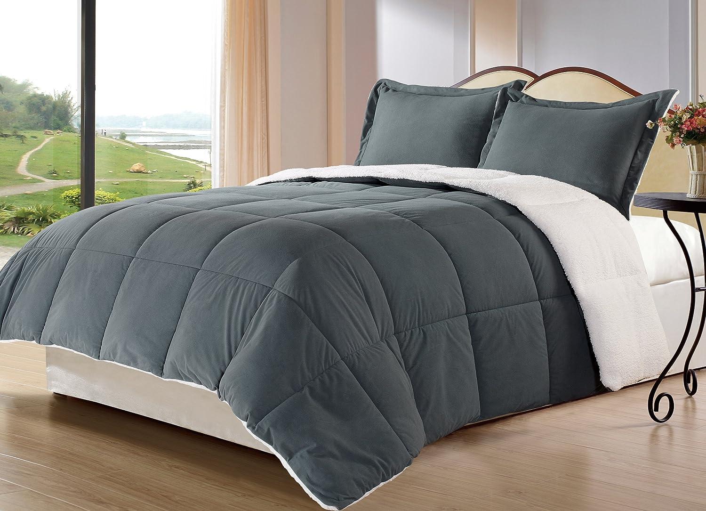 Amazon.com: Cozy Beddings 15-Piece Down Alternative Mini Comforter ...