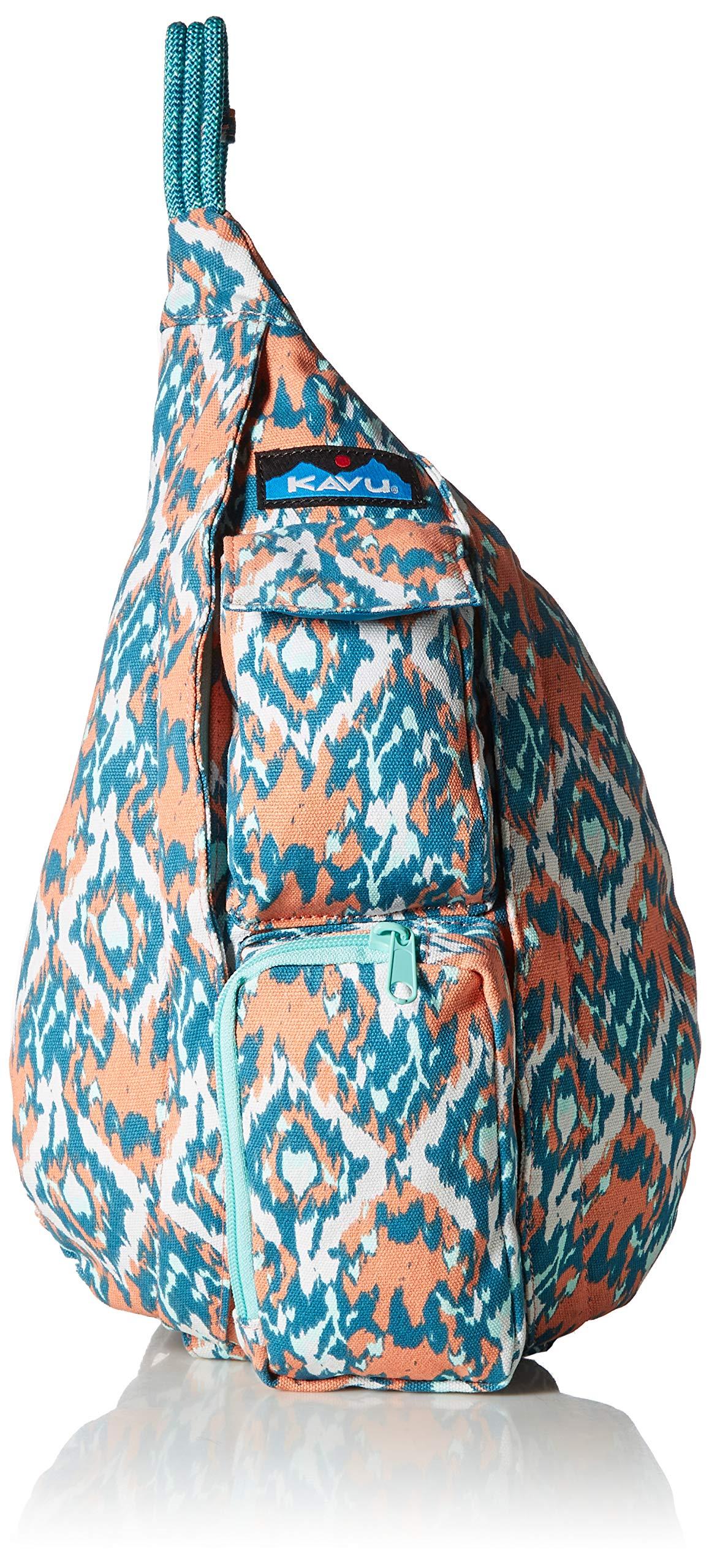 KAVU Women's Mini Rope Bag, Beach Paint, No Size