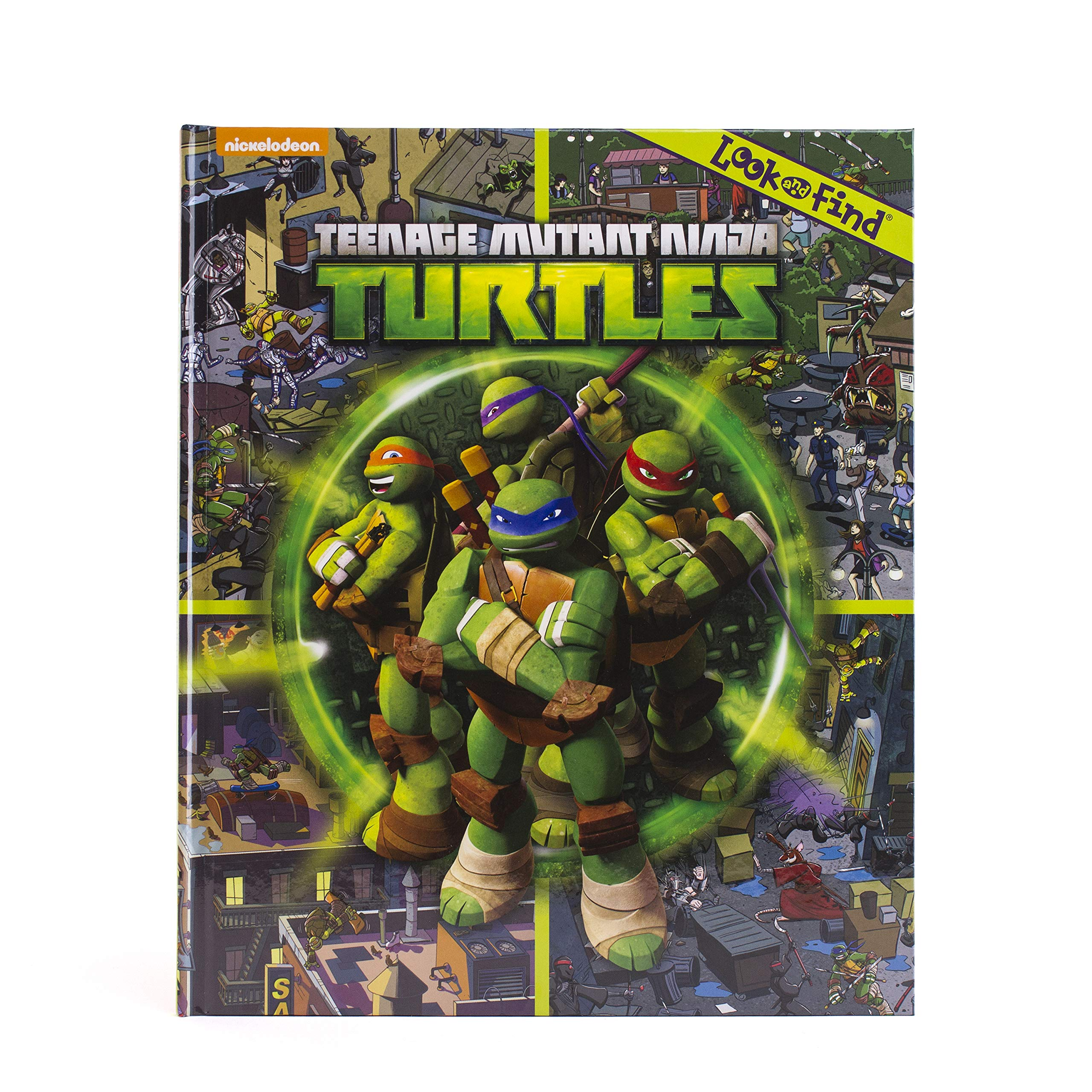 Nickelodeon - Teenage Mutant Ninja Turtles Look and Find ...