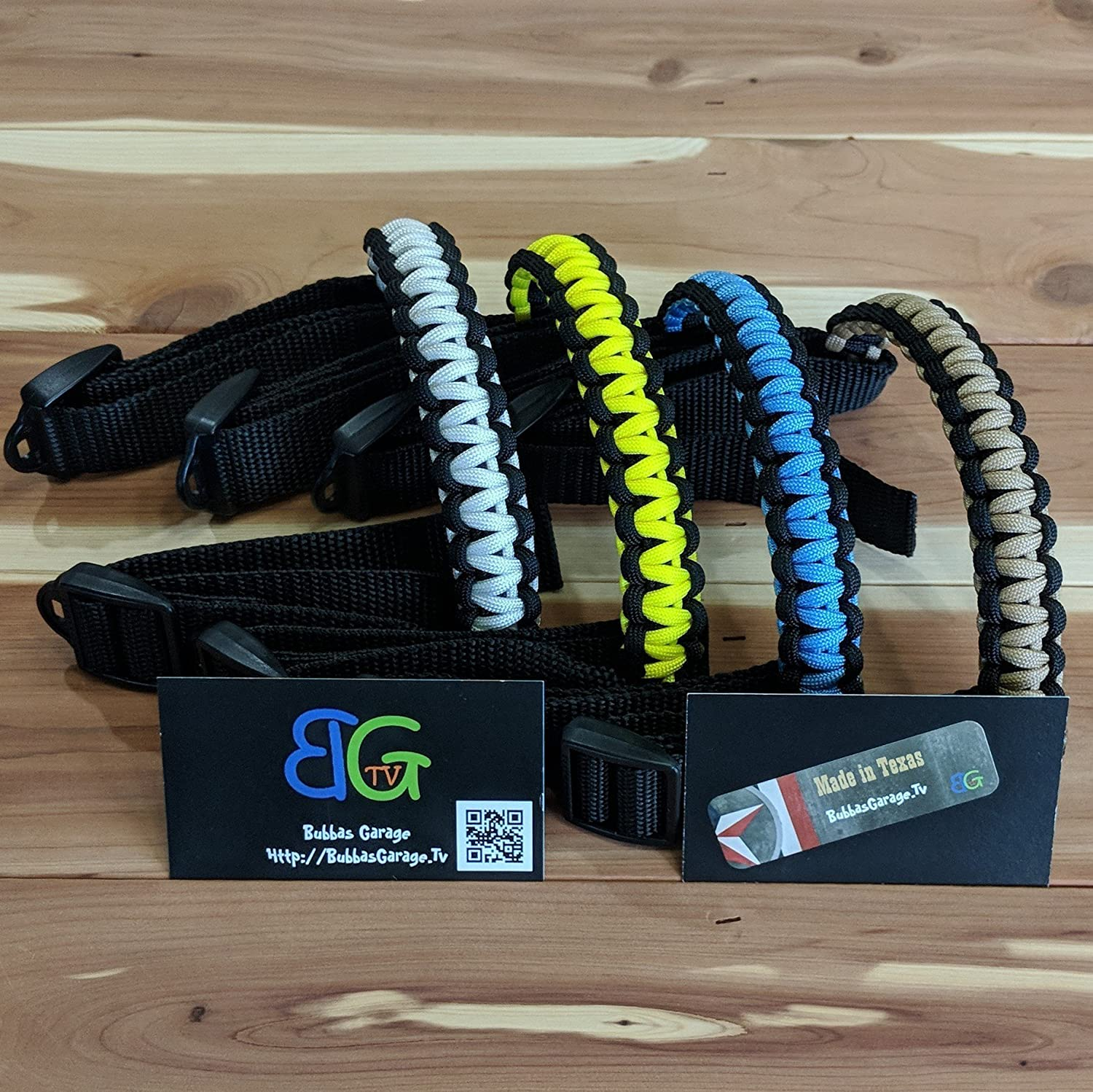 Custom 2 Color Universal Paracord UTV/ATV/Jeep Grab Handles - Pick Your Options