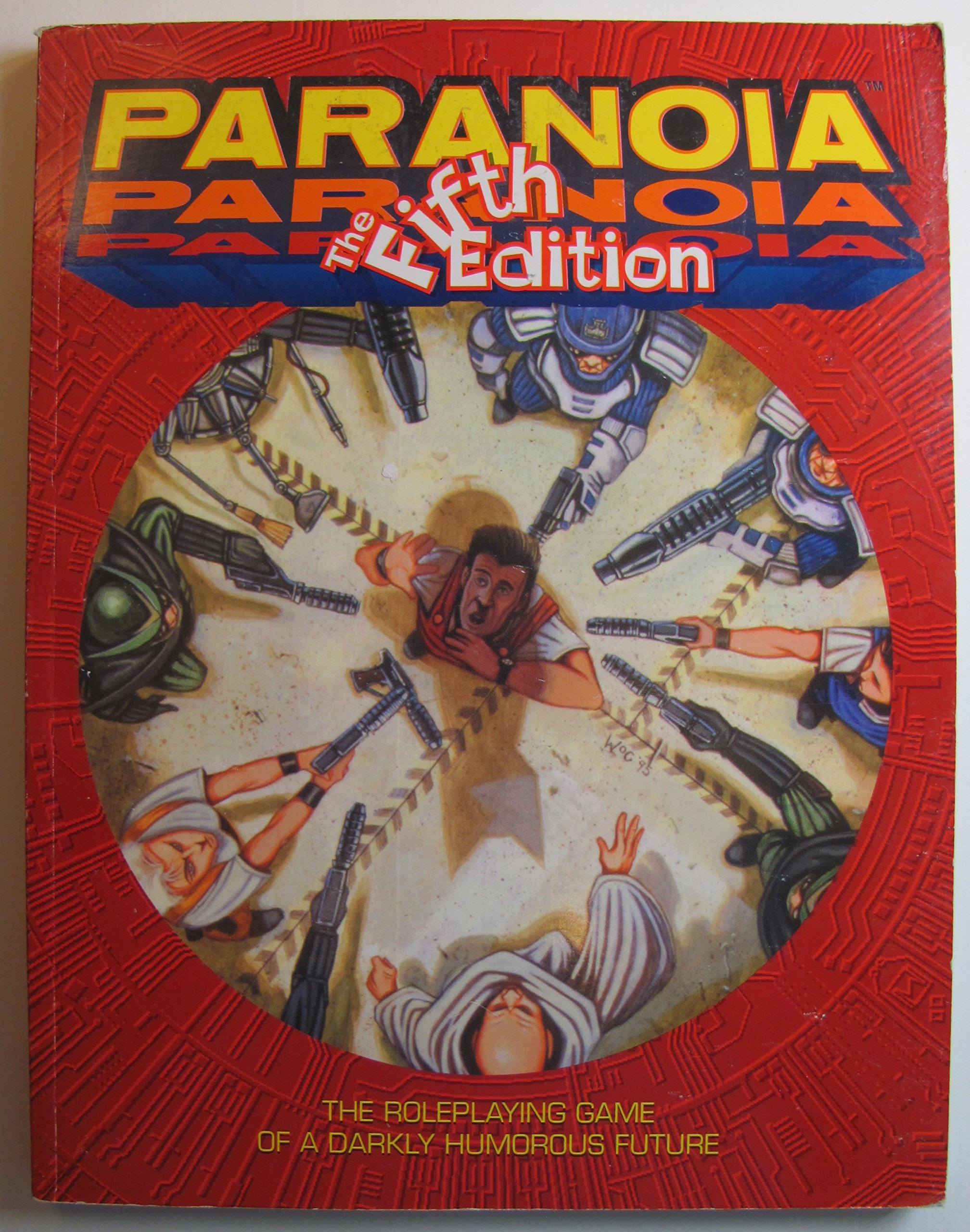 Paranoia rpg: funagain games.