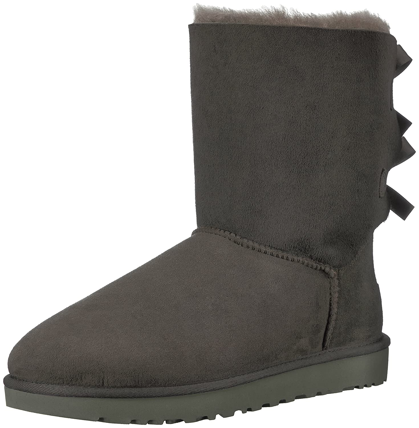 UGG Bottes Bailey Gris Bow, Bottes Doublure ChaudeFemme ChaudeFemme Gris (Grigio) 6dbdf42 - conorscully.space