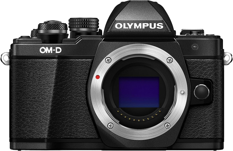 Olympus OM-D E-M10 Mark II Mirrorless Digital Camera (Black) - Body only by Olympus