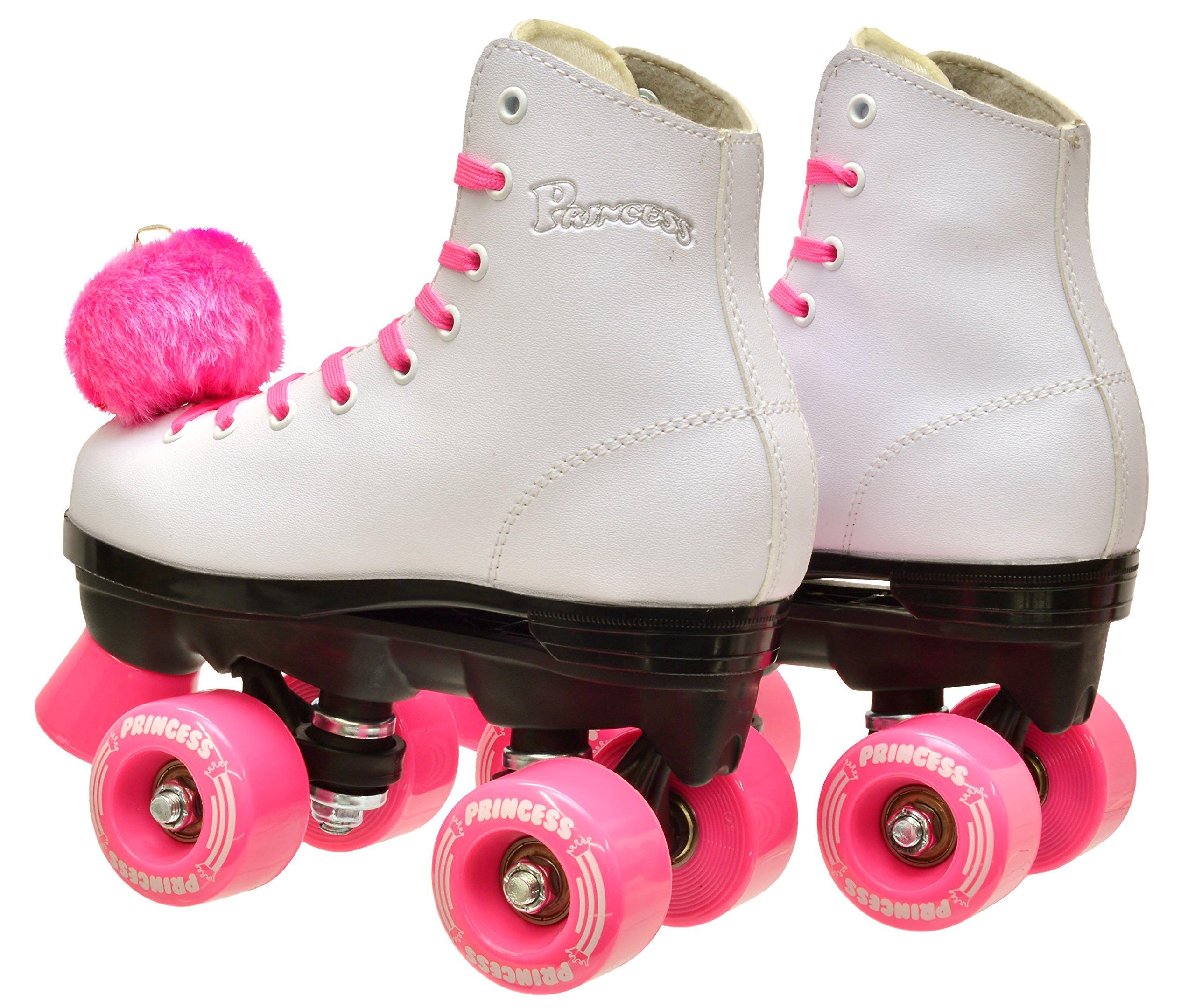 Epic Skates Epic Pink Princess Quad Roller Skates Kids 5 by Epic Skates (Image #1)