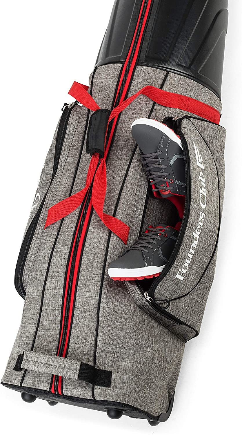 Founders Club Golf Travel Bag Review 1