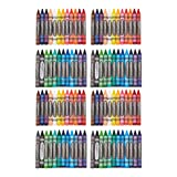 AmazonBasics Jumbo Crayons - 24 Assorted Colors, 4-Pack