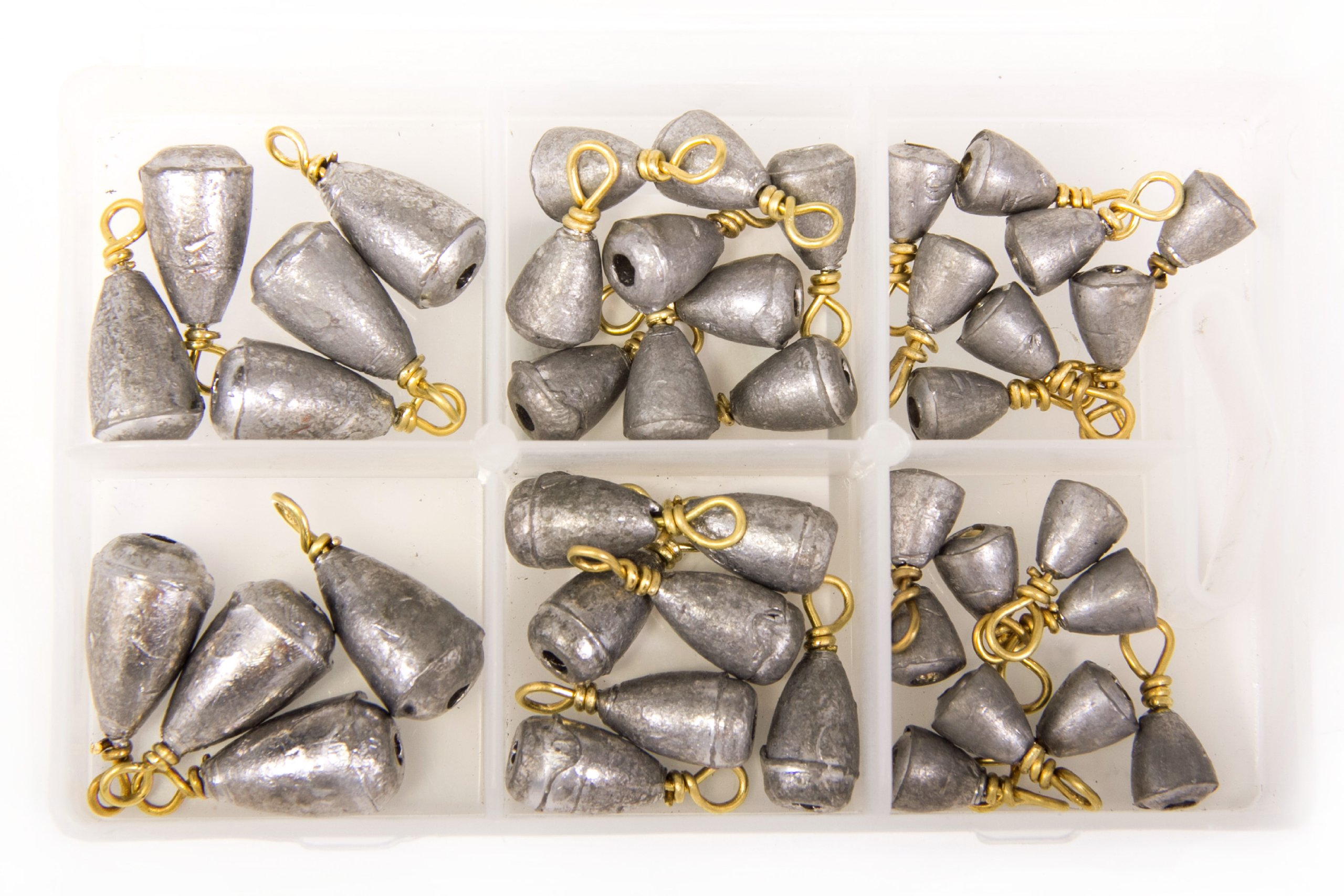 Bullet Weights Bass Casting Sinker Kit (42 Pieces)
