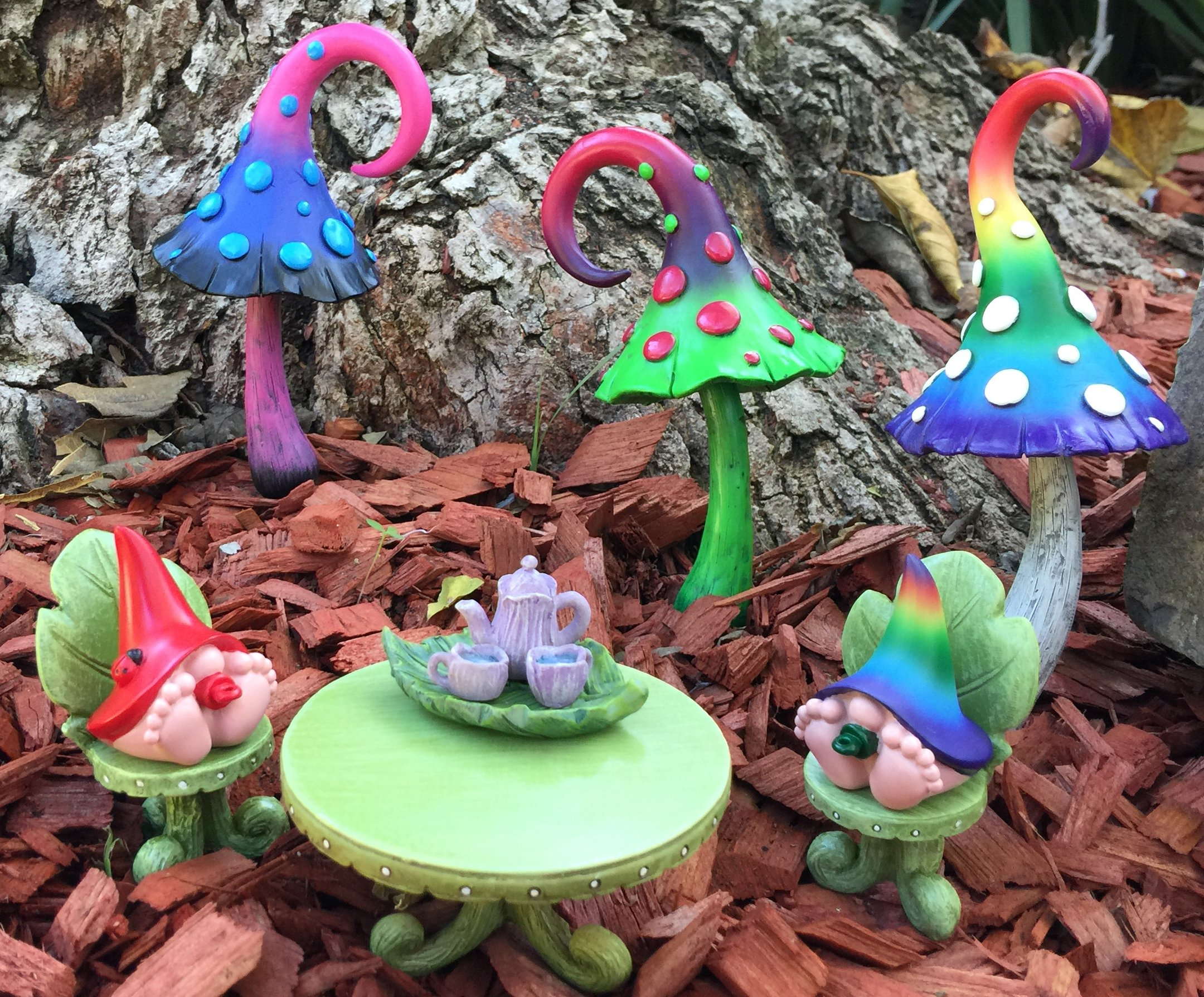 GlitZGlam Miniature Baby Gnomes 4 Pack Collection – The Baby Gnomes for The Fairy Garden That Garden Fairies Love by GlitZGlam (Image #4)