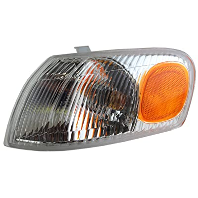 Park Signal Corner Marker Light Lamp Lens Driver Replacement for 98-00 Toyota Corolla 81520-02040: Automotive