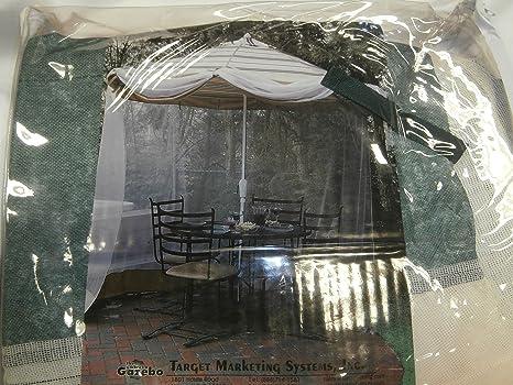 Merveilleux The Umbrella Gazebo An Enclosure For Patio Umbrellas Table Screen