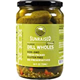 Sunraised Kosher Dill Whole Pickles, 24 oz