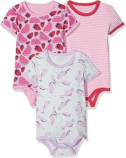 3er Pack Care Baby-M/ädchen T-Shirt Bane