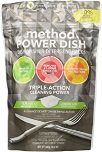 Method Products PBC 1759 20CT Lemon/Mint Dish Pack, 10.5 OZ, 10 Ounce