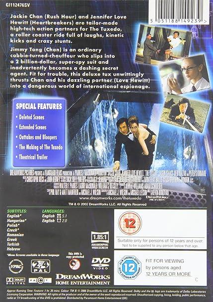 The Tuxedo [Reino Unido] [DVD]: Amazon.es: Jackie Chan ...