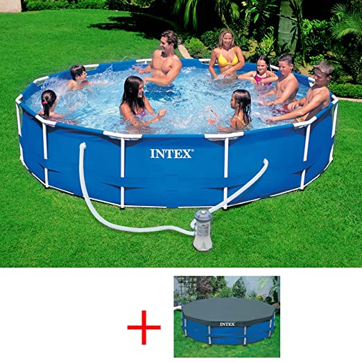 INTEX 28212 OFERTA METAL FRAME POOL CM, PISCINA DE 366 X 76 ...