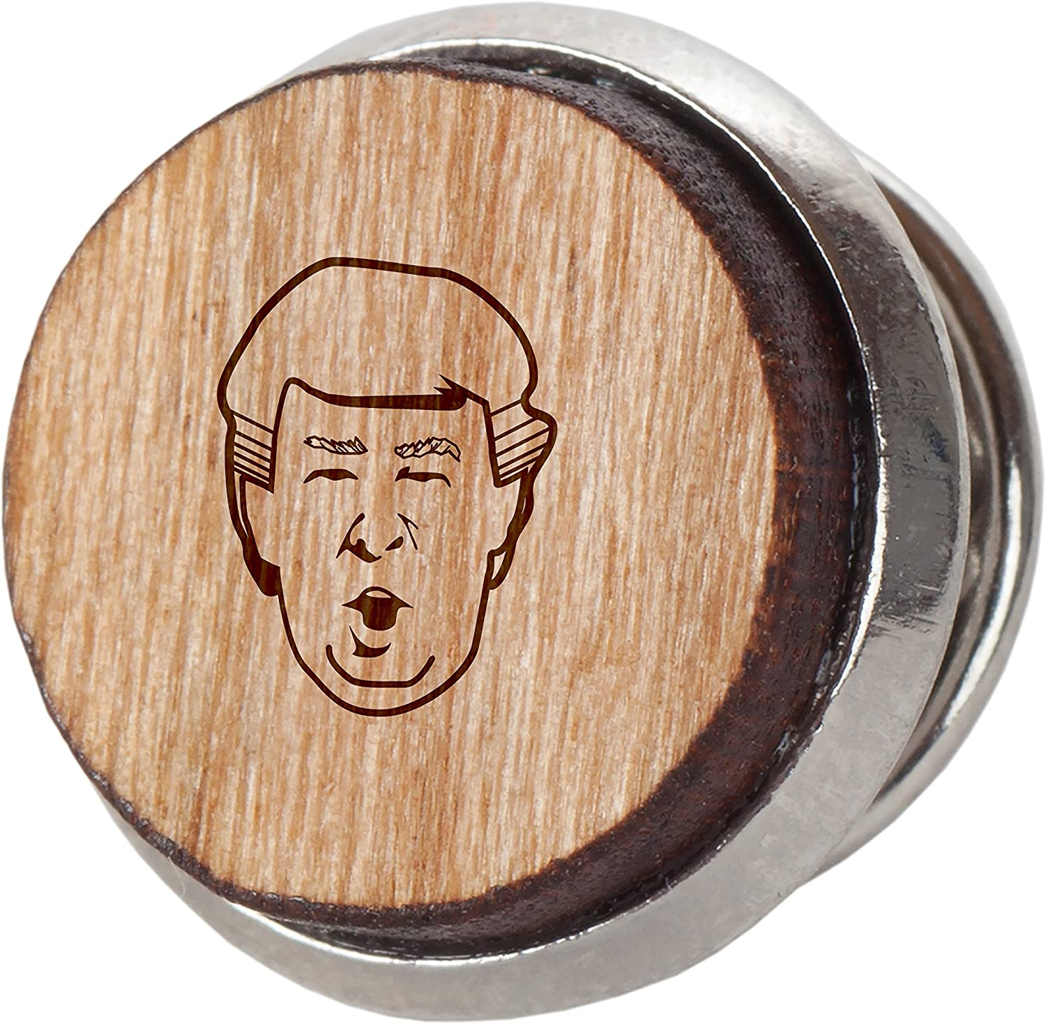 Wooden Accessories Co Donald Trump - Alfiler de Corbata (Madera de ...