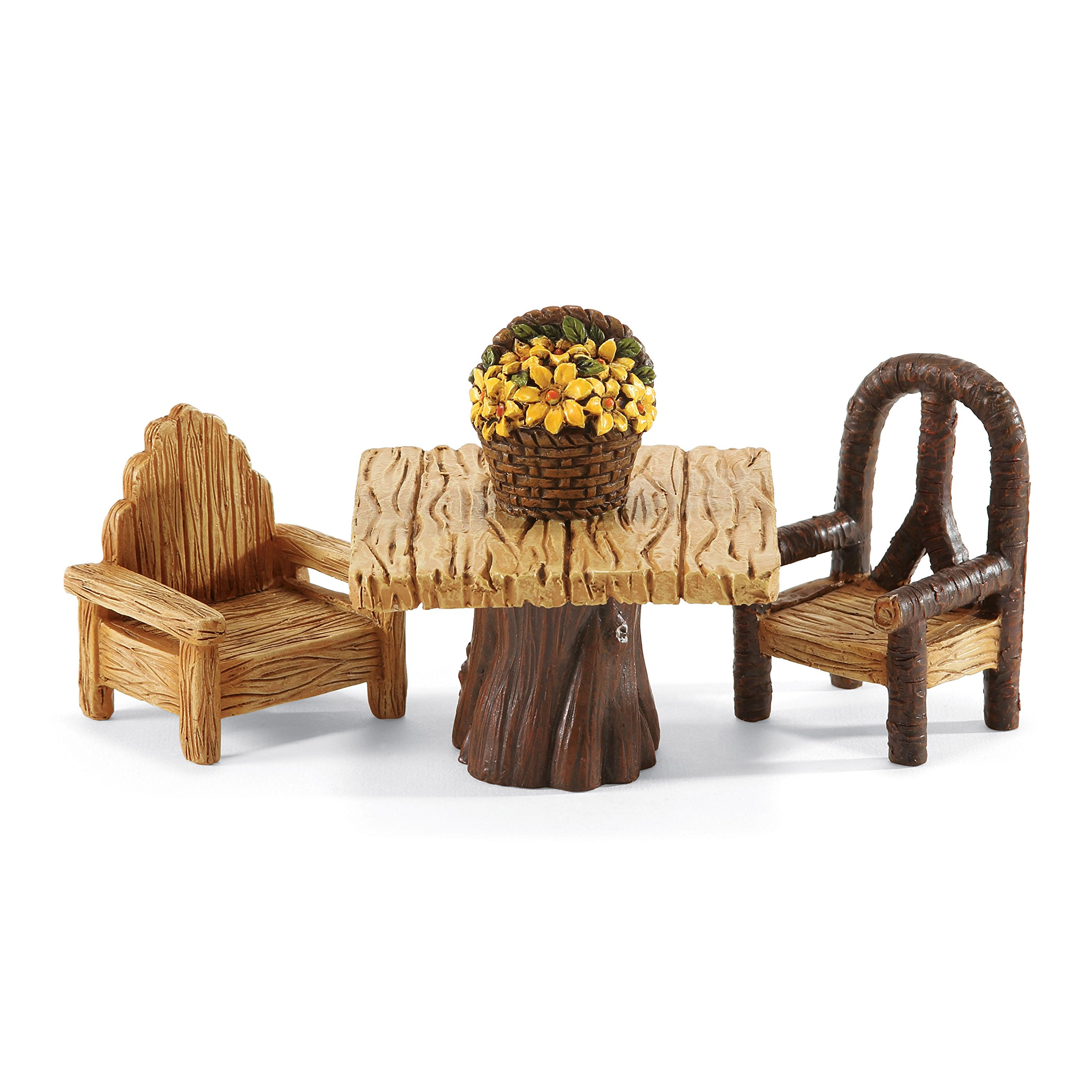Department 56 Garden Guardians Table and Chair Set, 3''