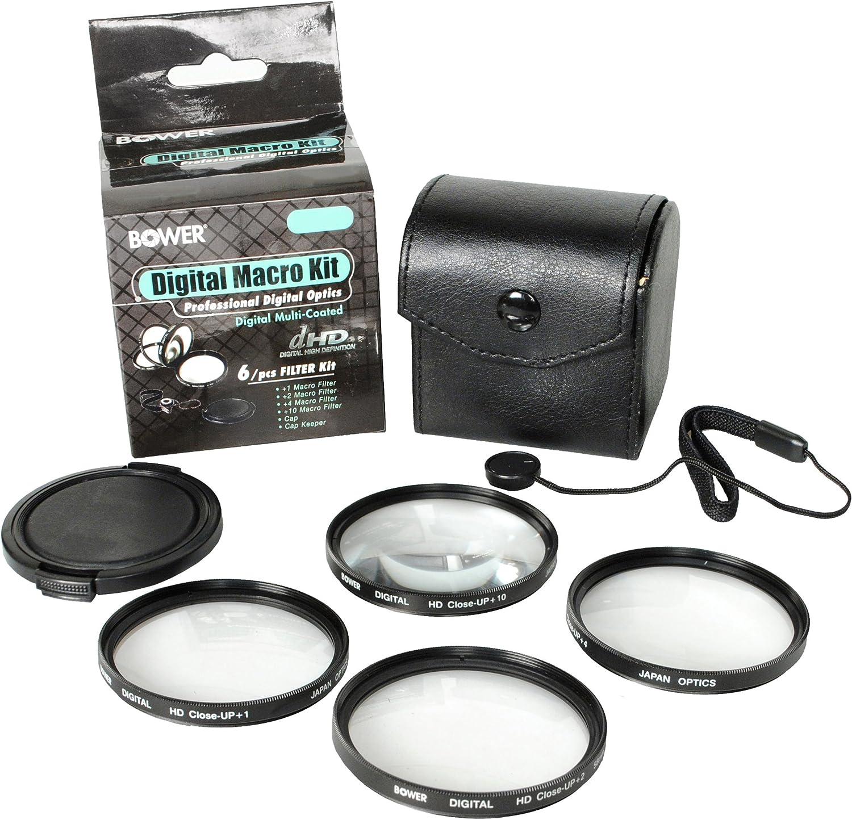 Bower FCC62C6 62mm 6-Piece Digital Macro Filter Kit