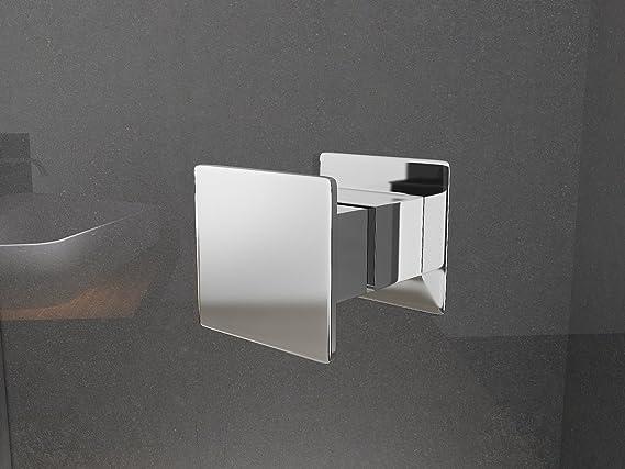 Mampara de ducha Sofia 90 x 190 cm entrada por la esquina/8 mm/sin ...