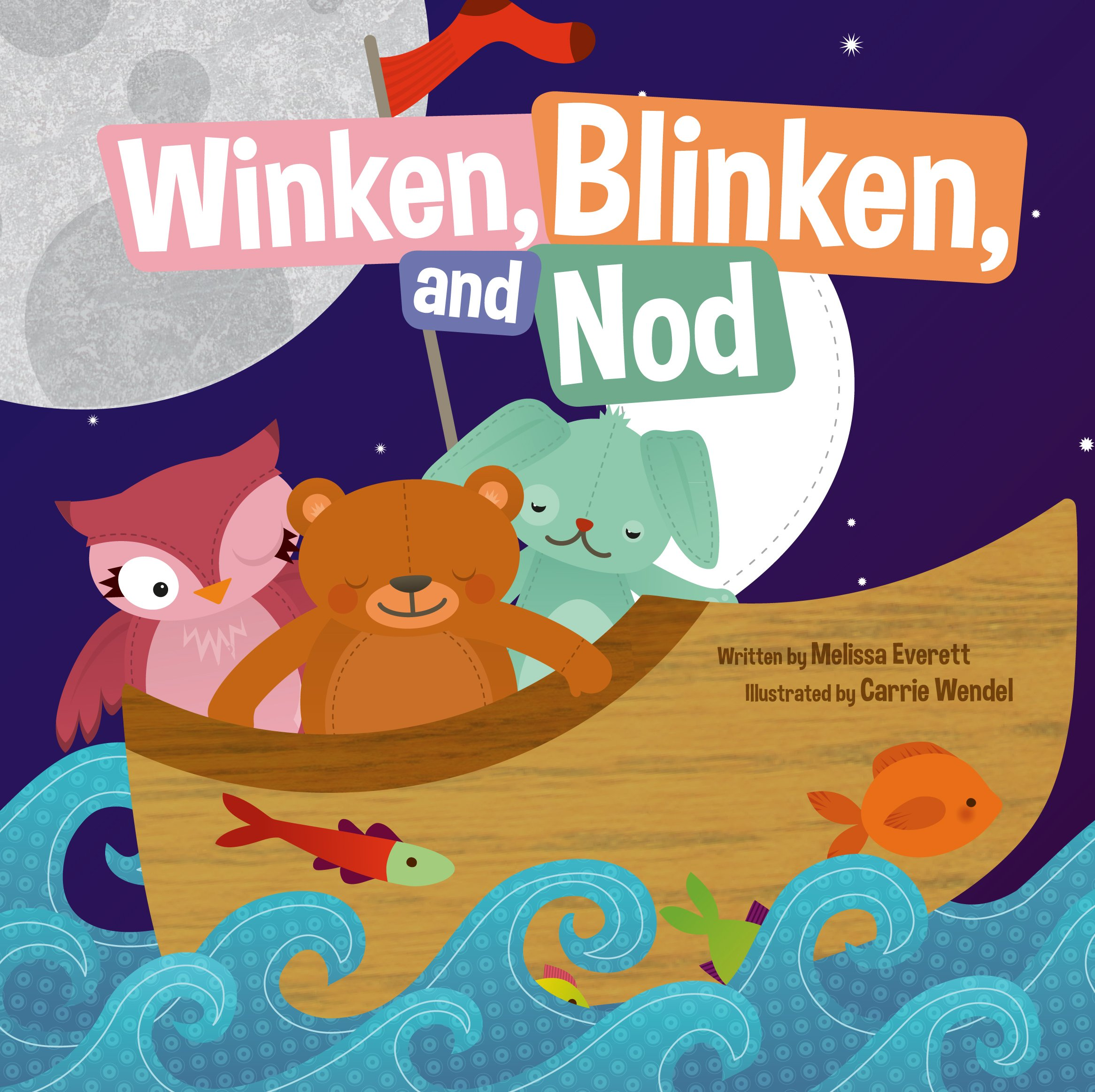 Amazon.com: Winken Blinken and Nod (Nursery Rhymes) (Re-Versed ...