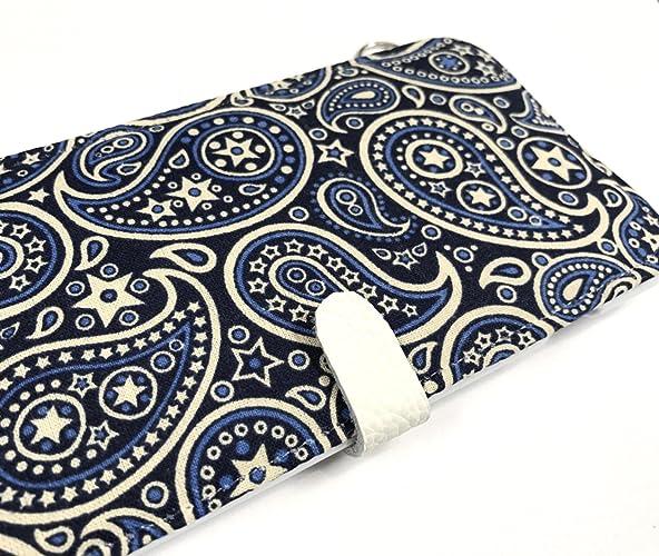 buy online 8fb9e 2fb82 Amazon.com: Blue Bandana iPhone phone wallet case iPhone 7 ,iPhone 7 ...