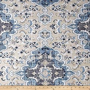 Covington Fabrics & Design Covington Sabra Bluebell Fabric By The Yard