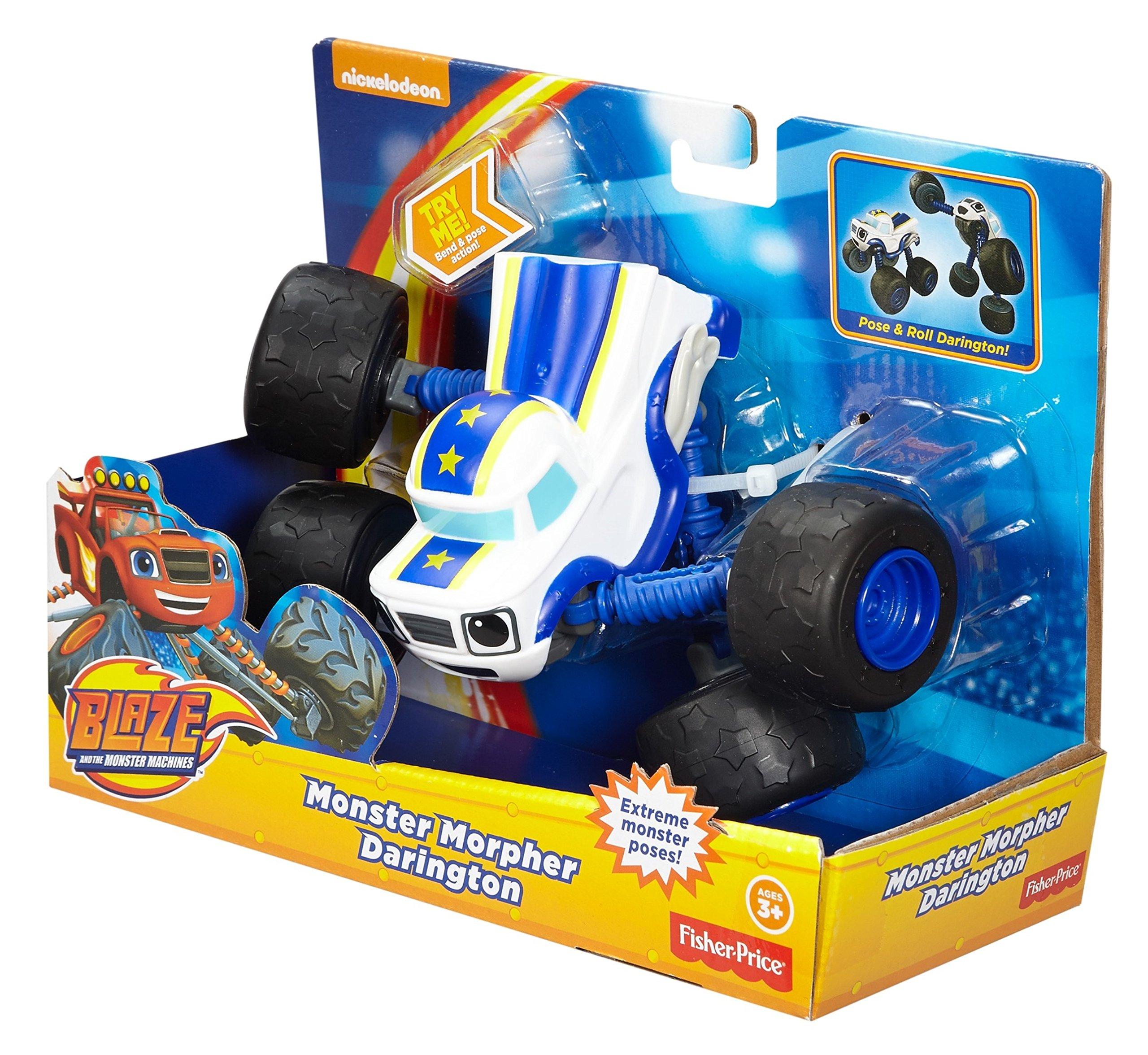 Fisher-Price Nickelodeon Blaze & the Monster Machines, Monster Morpher Darington by Fisher-Price (Image #12)