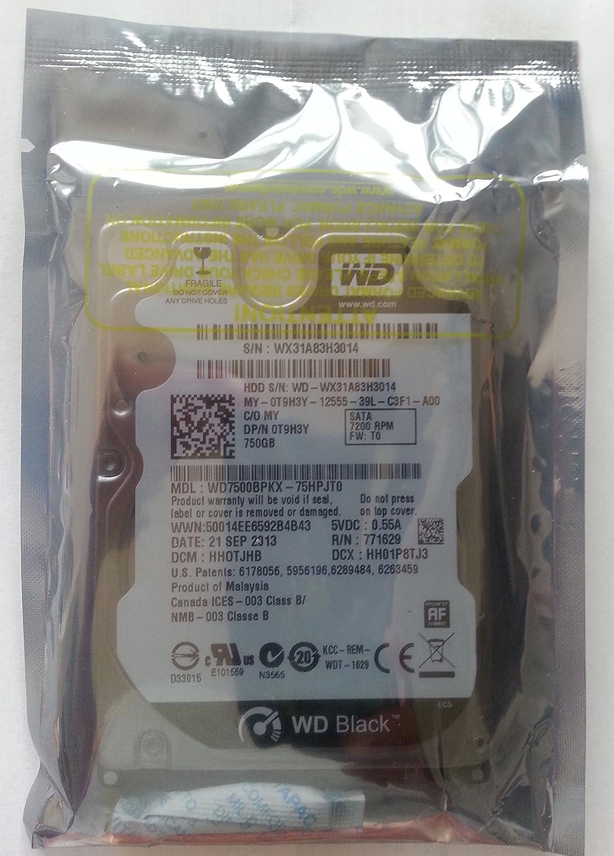 Dell T9H3Y WD7500BPKX 2.5