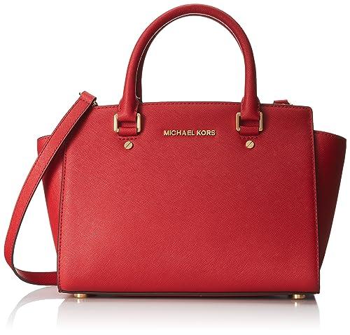 Michael Kors - Bolso estilo cartera para mujer Rojo rojo: Amazon.es: Zapatos y complementos