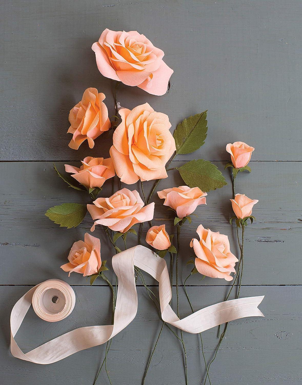 Creativity Street Crepe Paper Flower Kit Roses